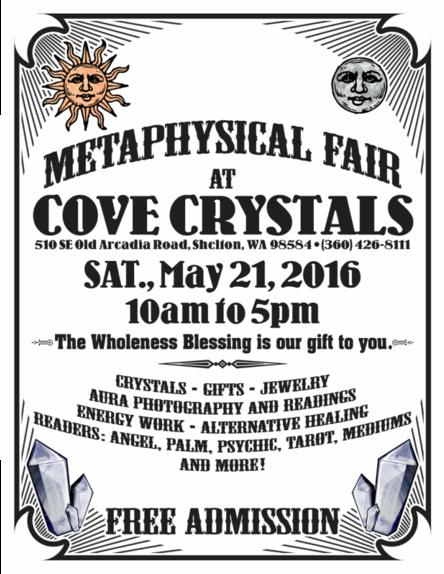 Mataphysical Fair Cove Crystal