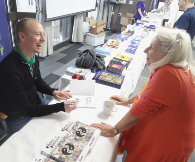 Alex Kent GoE Energy of Attraction Book Signing